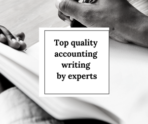 Accounting experts writers
